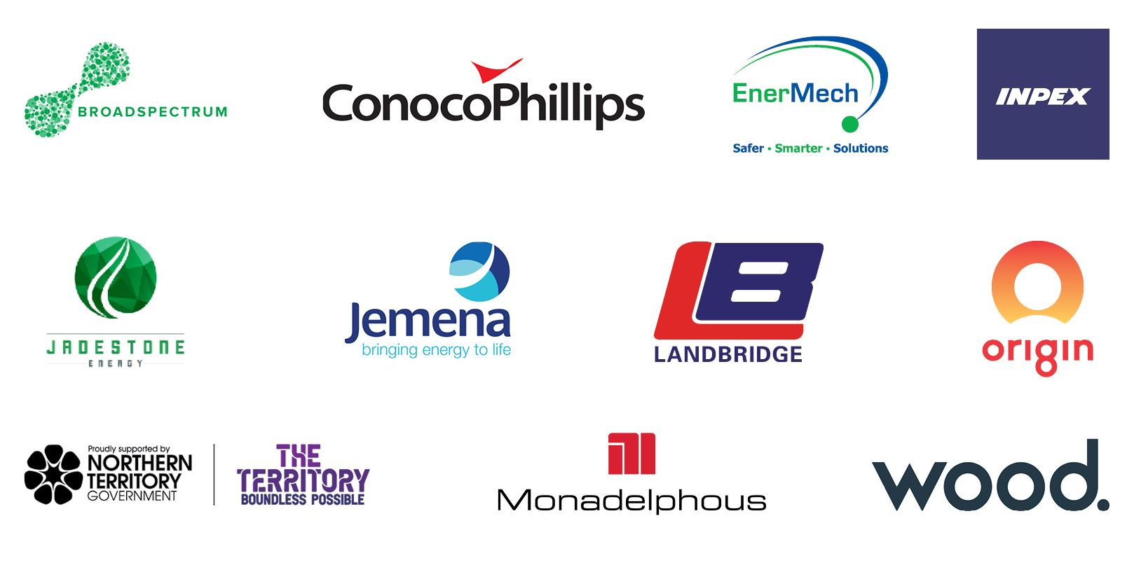 Energy Club NT - Our Sponsors